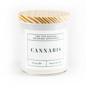 CANNABIS Relaxing Aromatherapy Candle 12oz