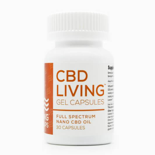 CBD Living gel capsule