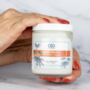 CBD Arnica Massage Cream