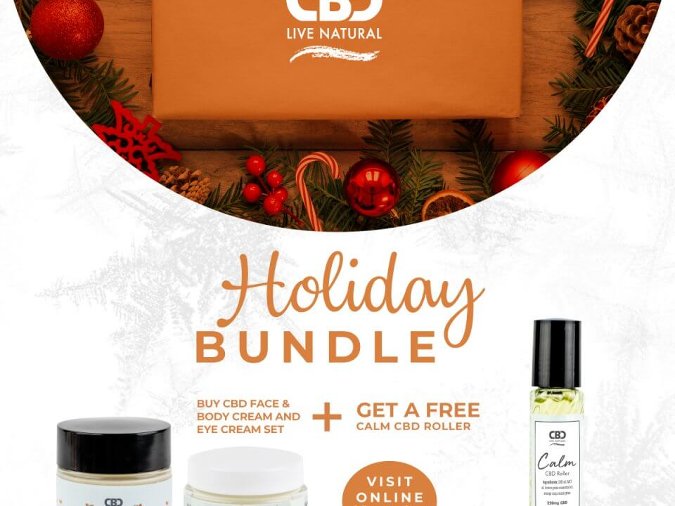 Give the gift of skin care with CBD rollers, creams and gels