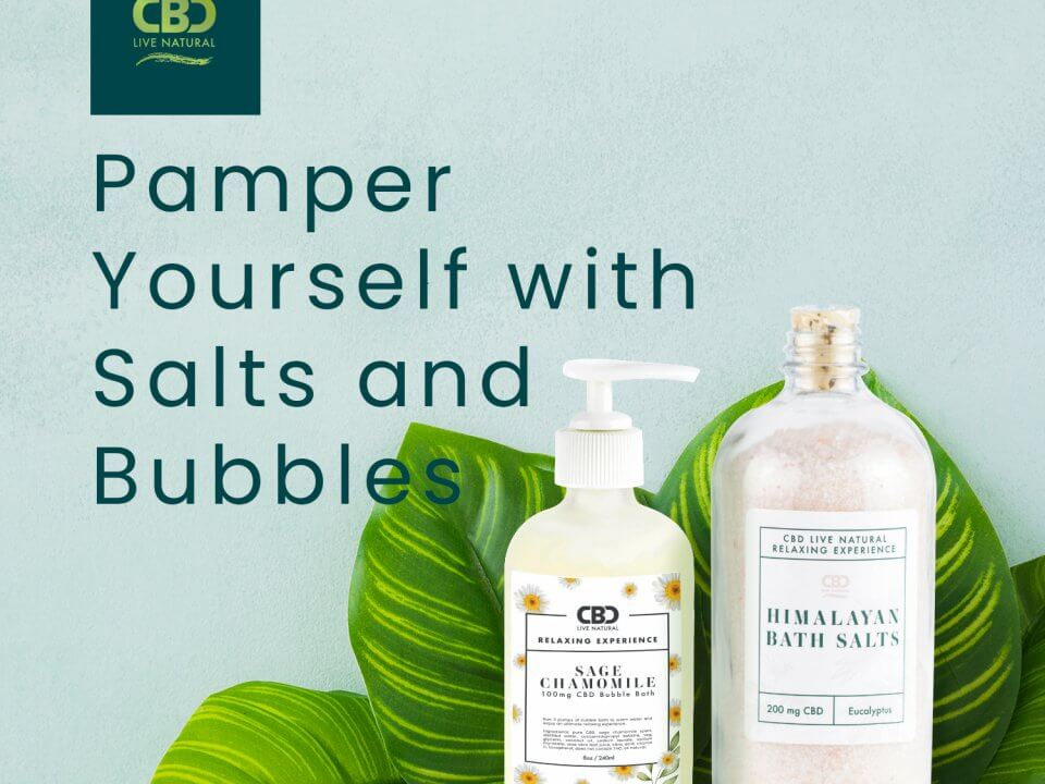 Pamper yourself with Himalayan Salts and Bubbles