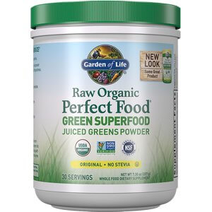 Raw Organic Prefect Food Green Superfood