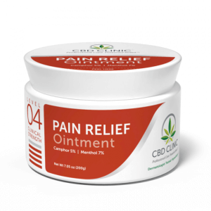 CBD Clinic Pain Relief Ointment Level 4