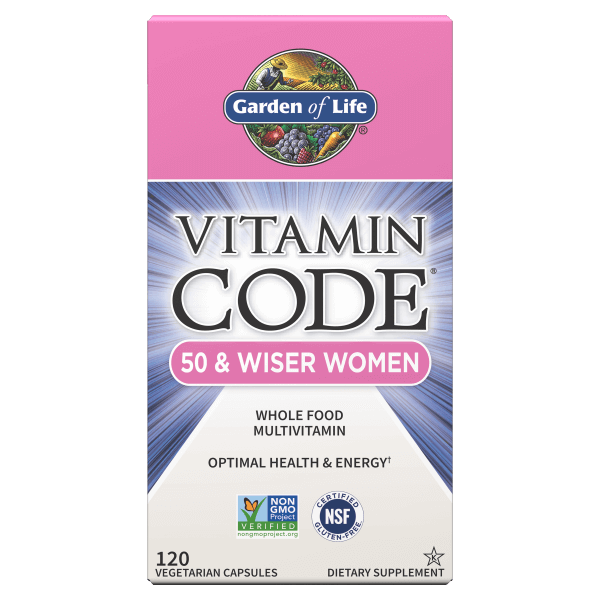 Vitamin Code 50 and Wiser Women Front