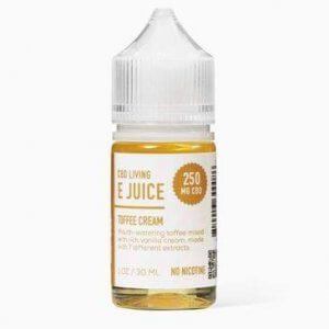 Toffee Cream Vape mixture