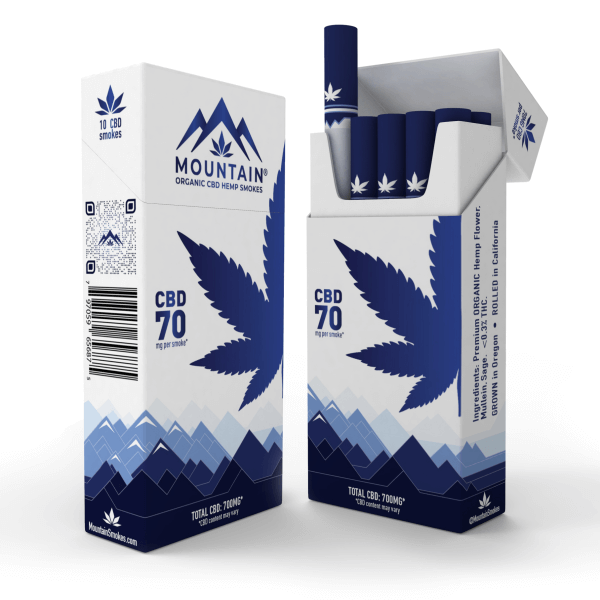 10-pack (70mg CBD) Front