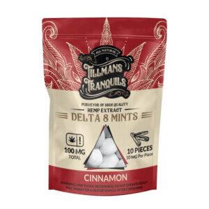 Cinnamon Delta 8 THC Mints 1 Pack